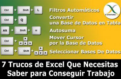 Tips de Excel para el Trabajo Estudios,7 Trucos de Excel Que Necesitas Saber para Conseguir Trabajo,Aprende Estos 7 Trucos de Excel,trucos de excel que necesitas saber,7 trucos avanzados de Excel que necesitas saber para conseguir trabajo,7 trucos avanzados de Excel,curso de excel en linea,trucos y tips de excel,tips en excel,quieres conseguir trabajo en excel,tips de excel para alumnos,Tips de excel para empleados,excel trucos y tips,Tips y trucos excel