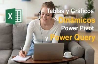 Clases Curso Tablas Dinámicas con Power Pivot y Power Query